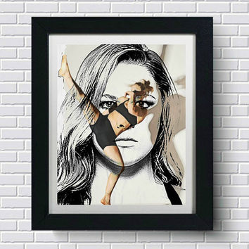 Ronda Rousey Wall Art  | Lisa Jaye Art Designs