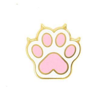 Cat Paw Pin
