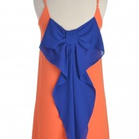 Auburn Bow Back Dress