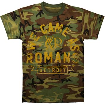 We Came As Romans Men's  Arched Logo Camo T-shirt Multi Rockabilia