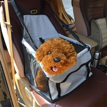 New PVC Pet Dog Cat Car Seat Bag Carriers Small Animal Pet Dog Mat Blanket Cover Mat Protector Breathable Waterproof U0749