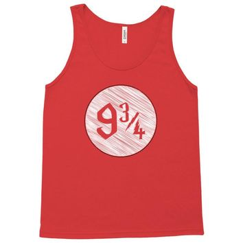 9 3 4 nine three quarters harry potter hogwarts Tank Top