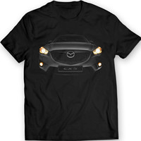 Mazda CX-5 SUV Headlights Crossover T-shirt 100% Cotton
