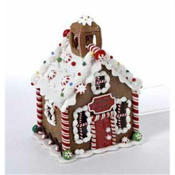 "6.5 ""  Christmas School Decoration - Gingerbread Design"