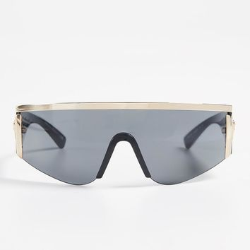 Gold Shield Sunglasses by Versace