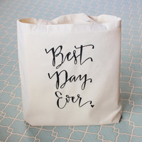 Best Day Ever Wedding Welcome Bag Wedding Favor Gift Bags