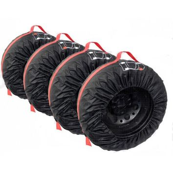 Spare Cover Polyester Winter Summer Tires Storage Automobile Accessories Vehicle Wheel Protector