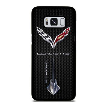 CORVETTE STINGRAY LOGO Samsung Galaxy S8 Case Cover
