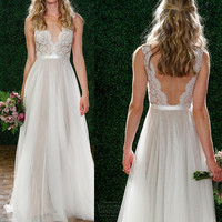 One piece Long dress party wedding for women