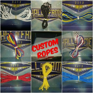 Ropes for WWE Figure Wrestling Rings - Multiple Sizes & Colours Available!!