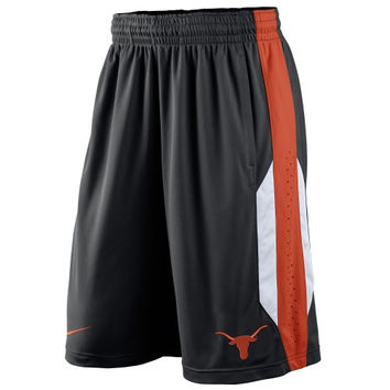 Nike Texas Longhorns Knit Performance Shorts - Black