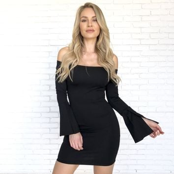 Happy As Can Be Little Black Dress