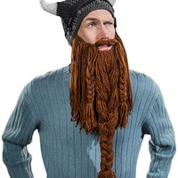Barbarian Pillager Beard Head Beanie