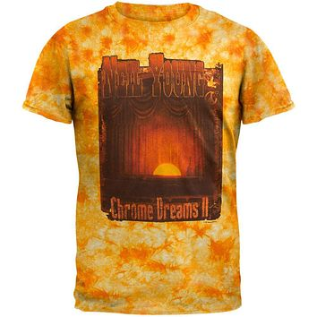 Neil Young - Chrome Dreams Tie Dye T-Shirt