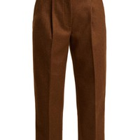 Tapered wool-blend trousers   Acne Studios   MATCHESFASHION.COM US