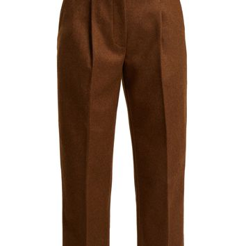 Tapered wool-blend trousers | Acne Studios | MATCHESFASHION.COM US