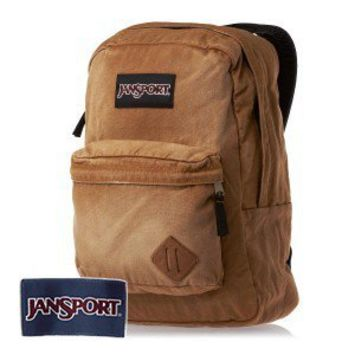 JanSport Slacker Backpack - Camel Brown