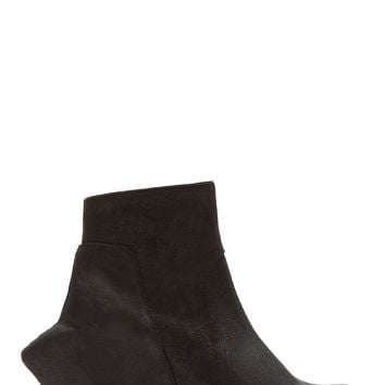 Rick Owens Black Mega Turbo Wedge Ankle Boots