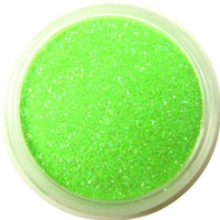 Prism Neon Green Glitter by CALLACosmetics on Etsy