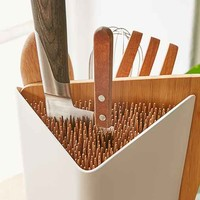 Forminimal Utensil Holder And Cutting Board Set
