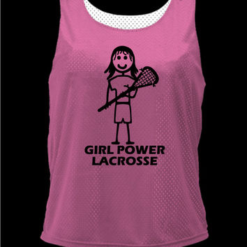 Girl Power Lacrosse Brine Womens Traditional Cut Reversible Jersey