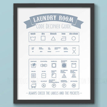 Shop Laundry Symbols On Wanelo