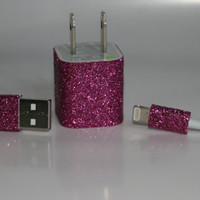 Glitter iPhone 5 Charger