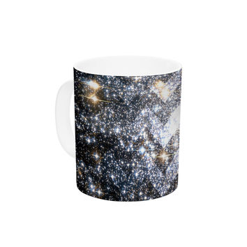 "Suzanne Carter ""Messier Chevron"" Ceramic Coffee Mug"