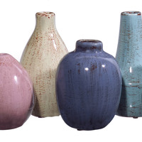 Mini Tuscany Vases - Set of 6