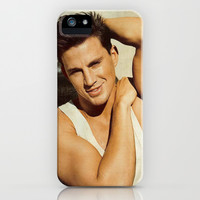 Channing tatum pose iPhone & iPod Case by Max Jones | Society6