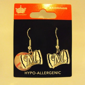 MLB Team Bow Earrings - More Teams Available