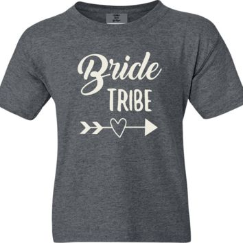 Bride Tribe She Said Yes Bridesmaid Soft Shirts