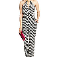 DVF Ireland Open Back Silk Jumpsuit