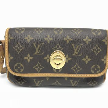 Louis Vuitton Monogram Tikal PM Shoulder Bag Brown M40078 0913