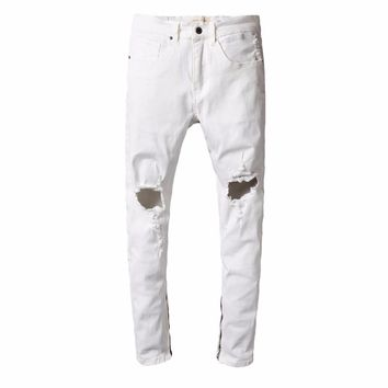 qiyif Herren Jeans Marke Inflation 2017 FEAR OF GOD Jeans