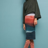 Scenic Sweater Skirt