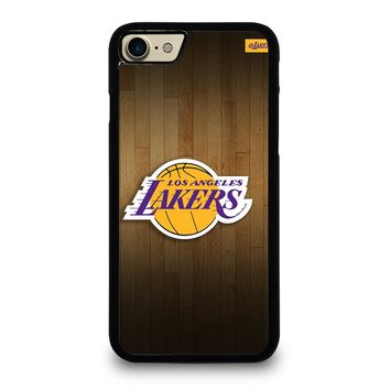 LA LAKERS BASKETBALL WOODEN iPhone 7 Case
