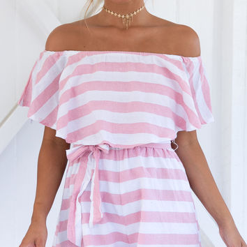 OUT AT SEA PLAYSUIT