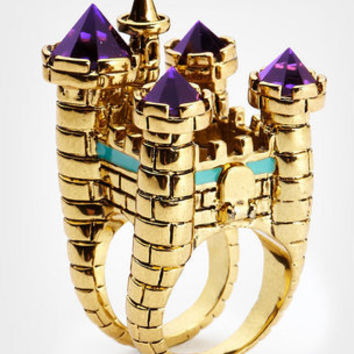 Disney Couture Oversized Castle Cocktail Ring
