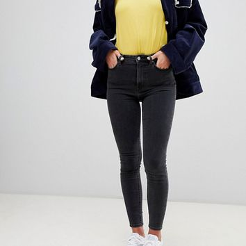 Weekday High Waist Body Jeans at asos.com