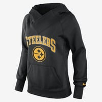 The Nike Wildcard All-Time Rib (NFL Steelers) Women's Hoodie.