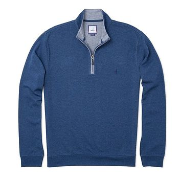 Sully 1/4 Zip Performance Pullover in Helios Blue by Johnnie-O - FINAL SALE