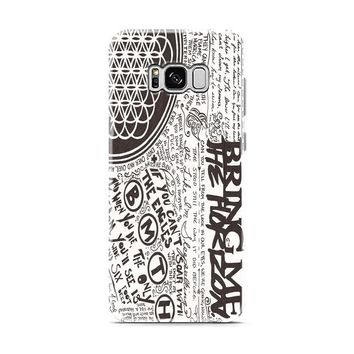 Bring Me The Horizon BMTH Collage Samsung Galaxy S8 | Galaxy S8 Plus case