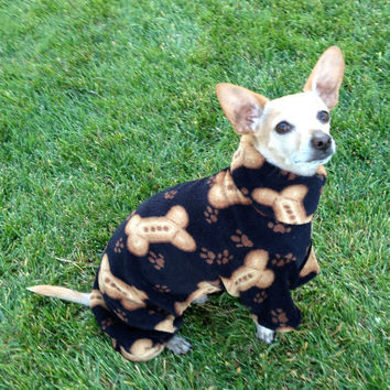 Lucky's Favorite EXTREMELY Soft Milk Bone Dog by GypsyEyesClothing