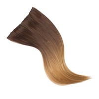 Brown and Blonde Ombre Clip-In Extensions for Hair  | Icing