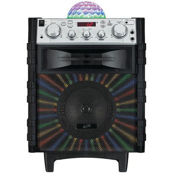 Ilive Tailgate Speaker With Disco Ball