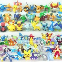 Nintendo Pokemon Diamond & Pearl PVC Figure Set Of 99