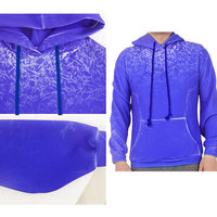 Jack Frost Hoodie Rise of the Guardians Cosplay Costume Blue