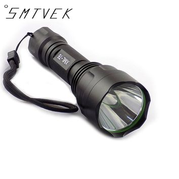 High Quality CREE XML-T6  LED Flashlight Torch Light 2000lm 5 modes Flashlights Powerful Tactical For Hunting Fishing Lamps