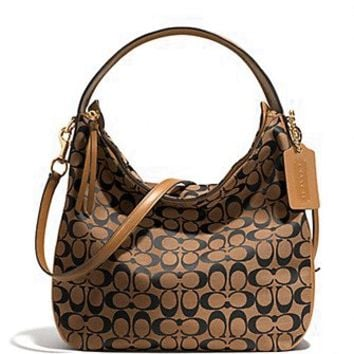 Coach Bleecker Sullivan Hobo Bag in Signature Jacquard